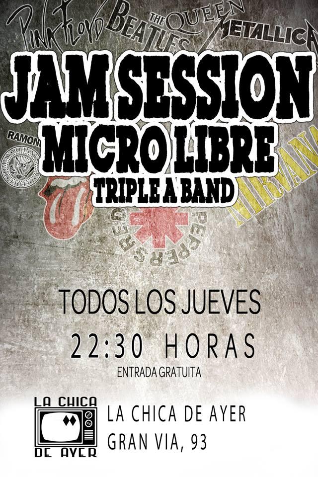 La Chica de Ayer Jam Session Salamanca 2017-2018