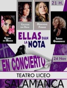 Teatro Liceo Ellas dan la nota Salamanca Noviembre 2017