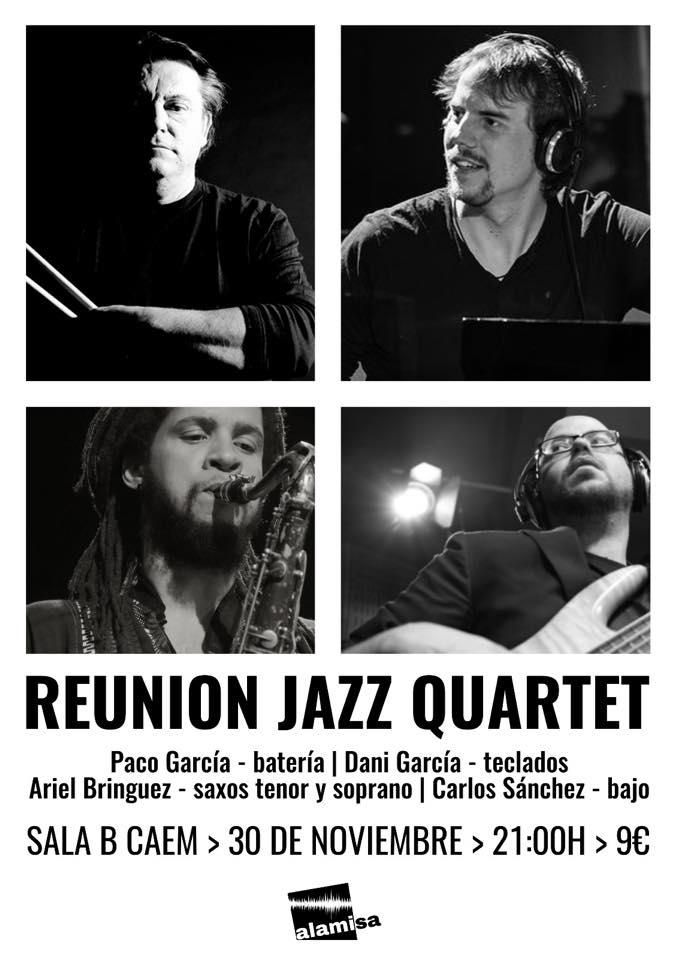 CAEM Reunion Jazz Quartet Salamanca ALAMISA Noviembre 2017