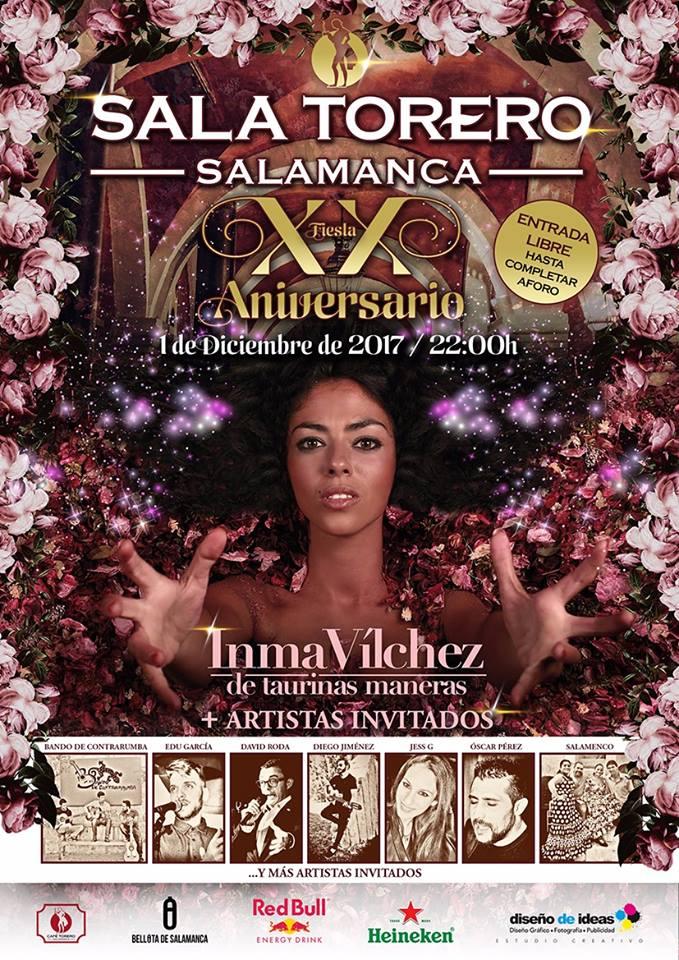 Sala Torero Inma Vilchez Salamanca Diciembre 2017