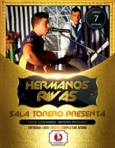 Sala Torero Hermanos Rivas Salamanca Diciembre 2017