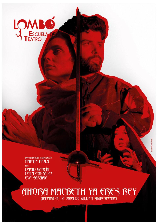 Sala Micenas Adarsa Lombó Teatro Ahora Macbeth ya eres rey Salamanca Noviembre 2017