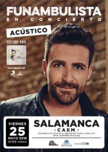 Centro de las Artes Escénicas y de la Música CAEM Funambulista Salamanca Mayo 2018