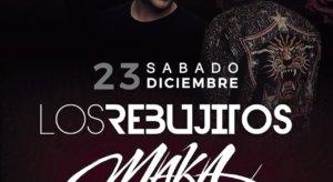 Alba de Tormes Los Rebujitos y Maka Diciembre 2017