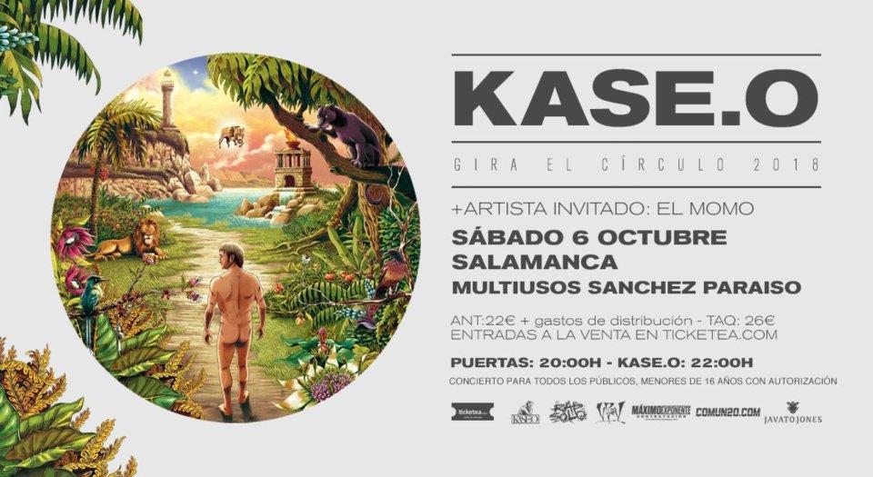 Sánchez Paraíso Kaseo.O + El Momo Salamanca Octubre 2018
