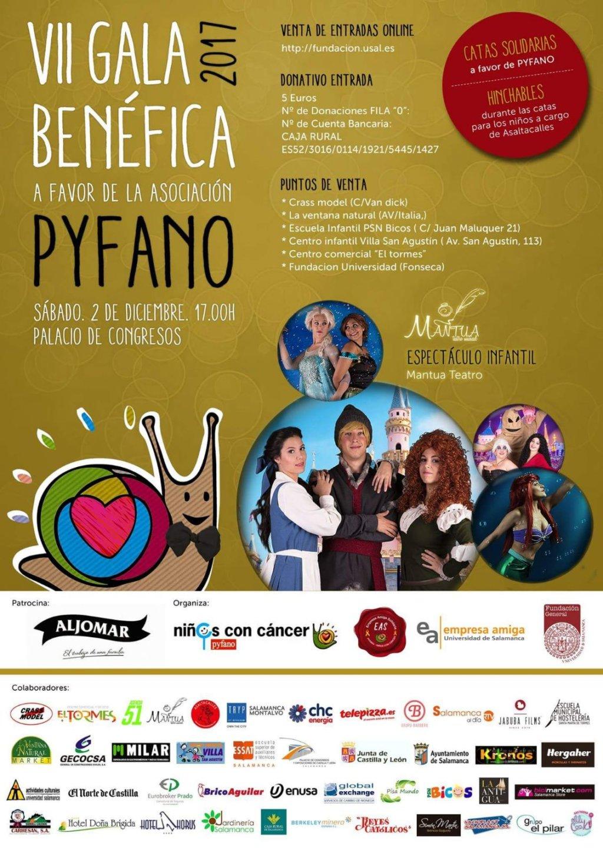 Palacio de Congresos y Exposiciones VII Gala Benéfica PYFANO Salamanca Diciembre 2017