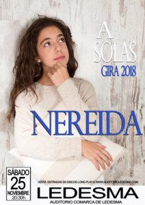 Teatro Auditorio A solas con Nereida Ledesma Noviembre 2017