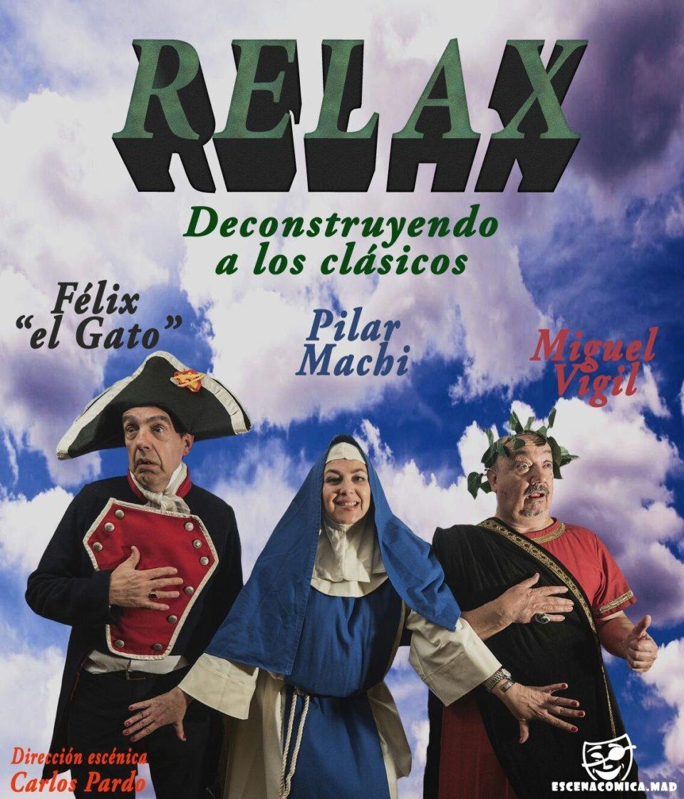 Teatro Auditorio Relax Deconstruyendo a los clásicos Ledesma Noviembre 2017