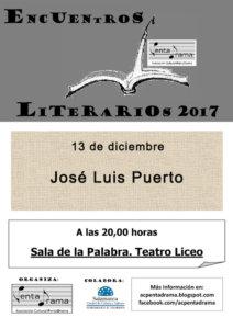 José Luis Puerto Pentadrama Salamanca Diciembre 2017