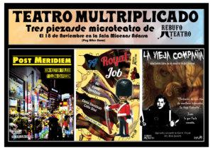 Sala Micenas Adarsa Rebufo Teatro Teatro multriplicado Salamanca Noviembre 2017