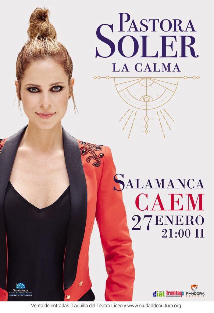 Centro de las Artes Escénicas y de la Música CAEM Pastora Soler Salamanca Enero 2018