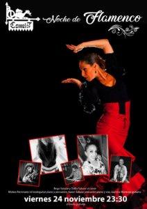 Camelot Noche de Flamenco Salamanca Noviembre 2017