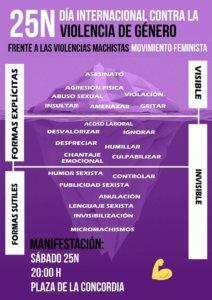 Día Internacional contra la Violencia de Género Salamanca Noviembre 2017