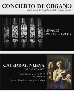 Catedral Nueva Ignacio Prieto Bermejo Salamanca Noviembre 2017