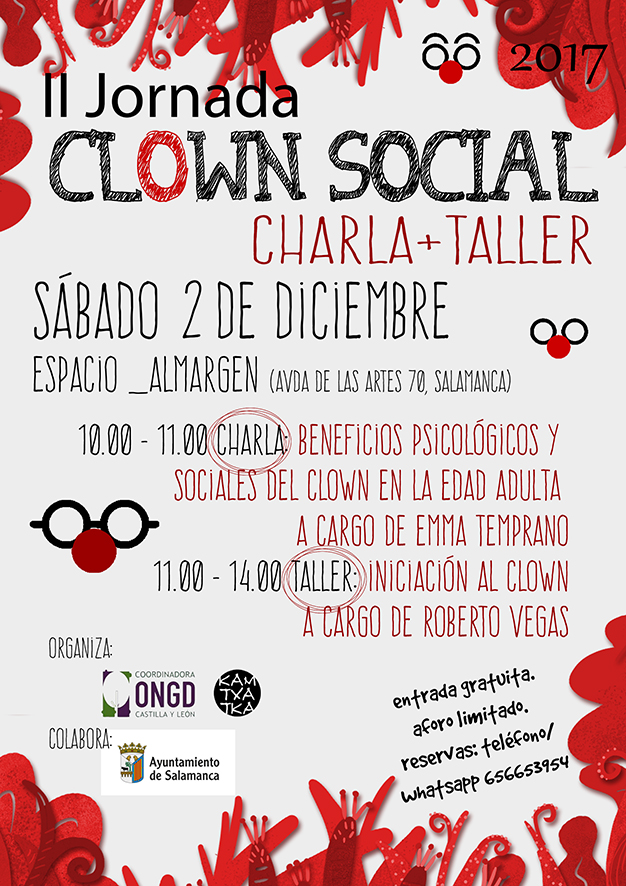 Espacio __Almargen II Jornada de Clown Social Salamanca Diciembre 2017