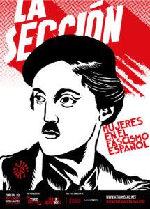 Aula Teatro Juan del Enzina La sección: mujeres en el fascismo español Universidad de Salamanca Noviembre 2017