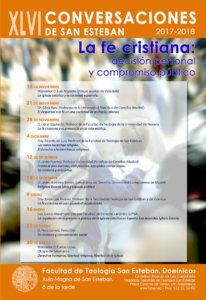 XLVI Conversaciones de San Esteban Salamanca 2017-2018
