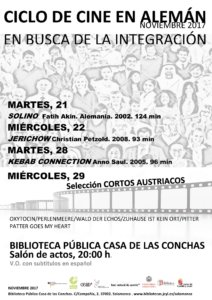 Casa de las Conchas Ciclo de Cine en Alemán En busca de la integración Salamanca Noviembre 2017