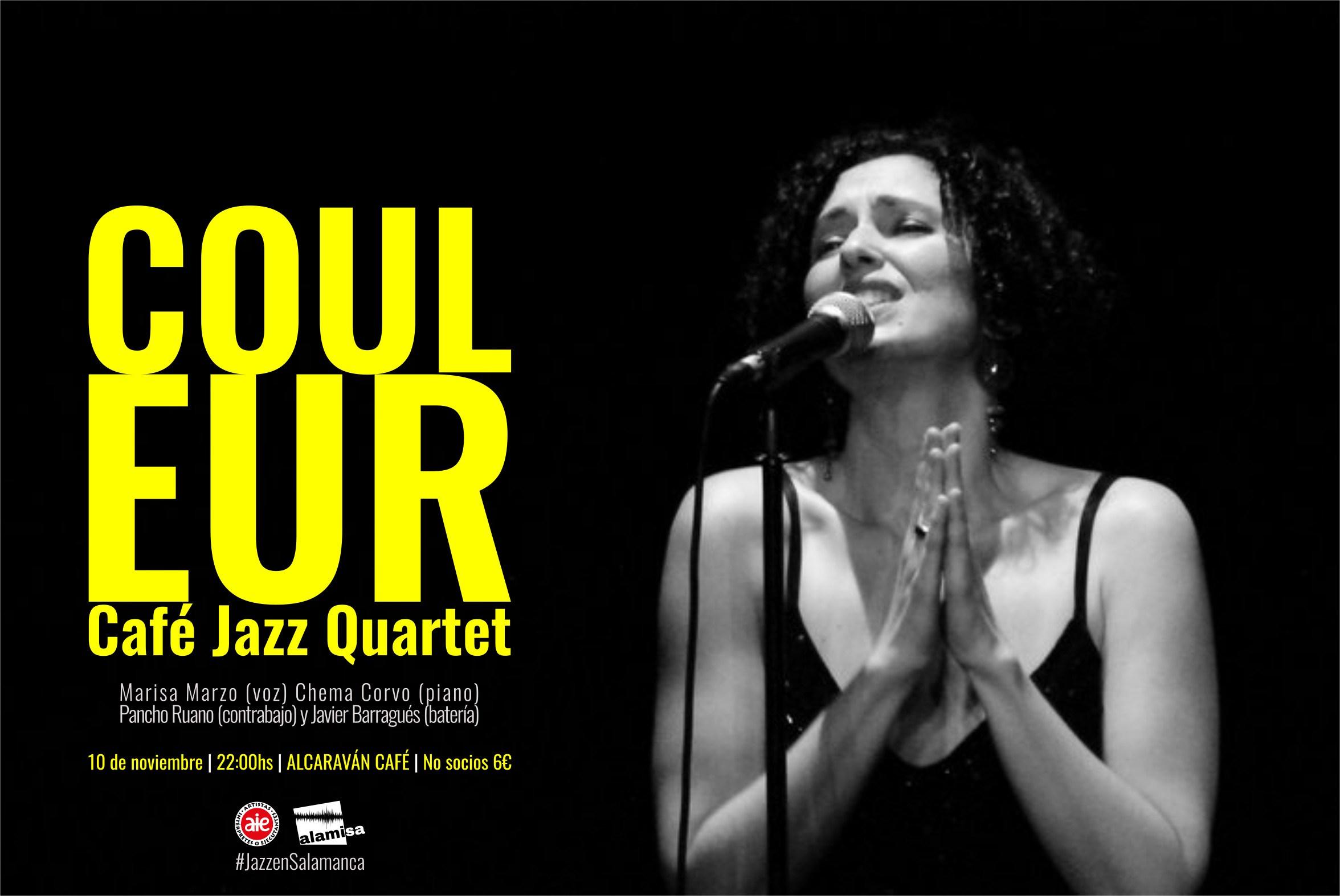 El Alcaraván Couleur Café Jazz Quartet ALAMISA Salamanca Noviembre 2017