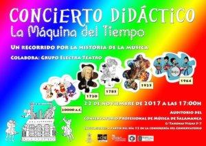 Conservatorio Profesional de Música de Salamanca Fiesta de Santa Cecilia Noviembre 2017
