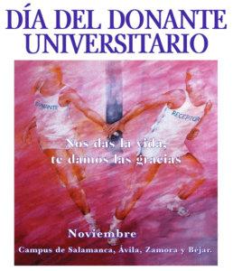 Día del Donante Universitario Universidad de Salamanca