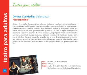 Torrente Ballester Divinas ConMedias EnFemenino Salamanca Noviembre 2017