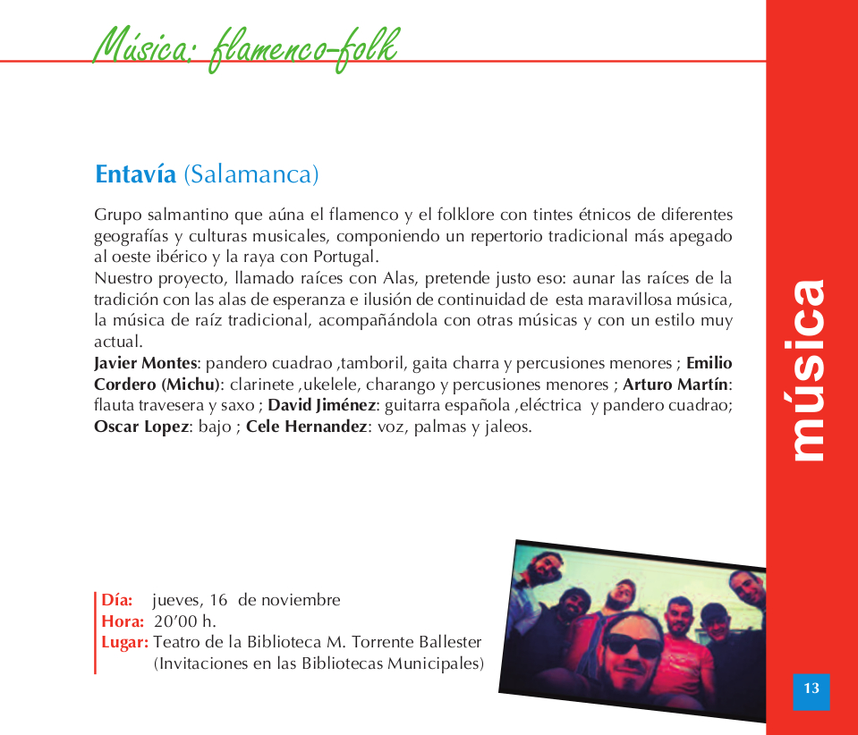 Torrente Ballester Entavía Salamanca Noviembre 2017
