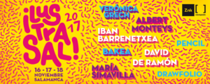 Hospedería Fonseca Ilustrasal 2017 Zink Espacio Emergente Salamanca Noviembre 2017