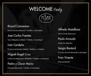 Programa Ibéricos FISAN Welcome Party Vida y Comida Xperiences Salamanca Noviembre 2017