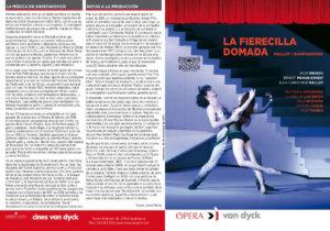 Cines Van Dyck La fierecilla domada Salamanca Diciembre 2017