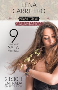 Sala Micenas Adarsa Lena Carrilero Salamanca Noviembre 2017