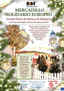 Escuela Oficial de Idiomas Mercadillo Solidario Europeo 2017
