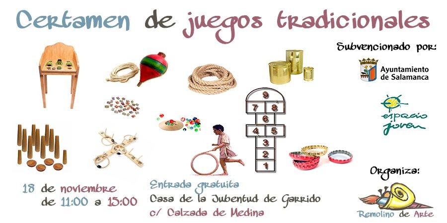 Certamen De Juegos Tradicionales Remolino De Arte Salamanca