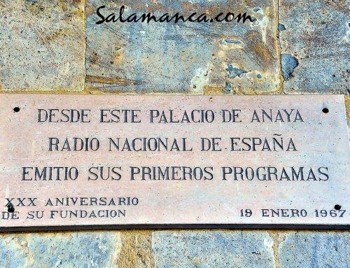 Radio Nacional de España nació en Salamanca.