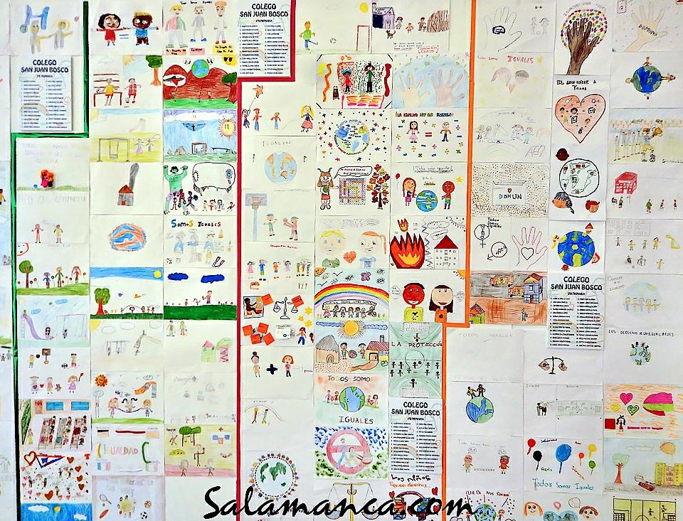Foto Julián Sánchez El Charro V Certamen de Dibujo Escolar Los Derechos de la Infancia Noviembre 2017