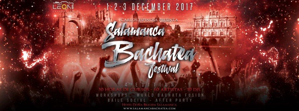 Hotel Doña Brígida IV Salamanca Bachatea Festival & World Diciembre 2017