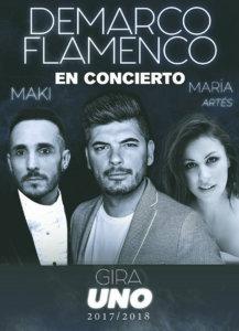 Sánchez Paraíso Demarco Flamenco + María Artés + Maki Salamanca Febrero 2018