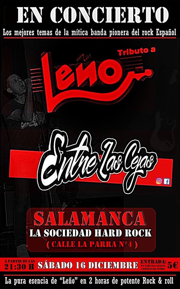 La Sociedad Hard Rock Club Entre las Cejas Salamanca Diciembre 2017