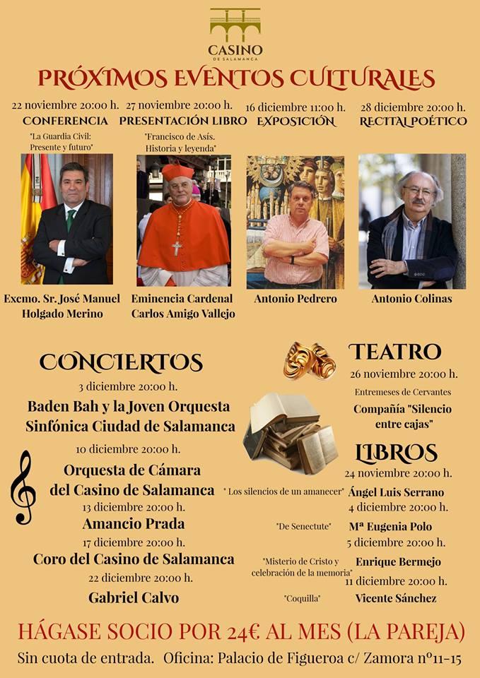Salamanca casino events
