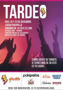 Pakipalla Tardeo Salamanca Diciembre 2017