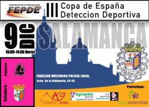 Policía Local III Copa de España de Detección Deportiva Salamanca Diciembre 2017