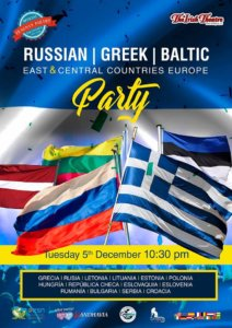 The Irish Theatre Fiesta Griega, Rusa, Báltica, Este y Centro de Europa Diciembre 2017