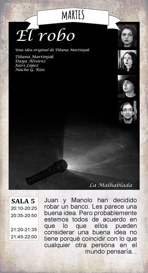 La Malhablada El robo Salamanca Diciembre 2017
