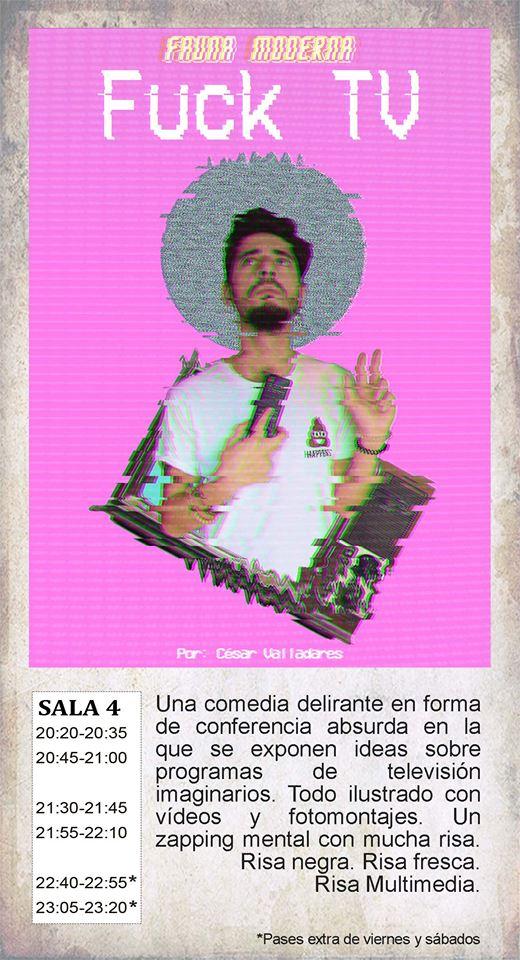 La Malhablada Fuck TV Salamanca Diciembre 2017