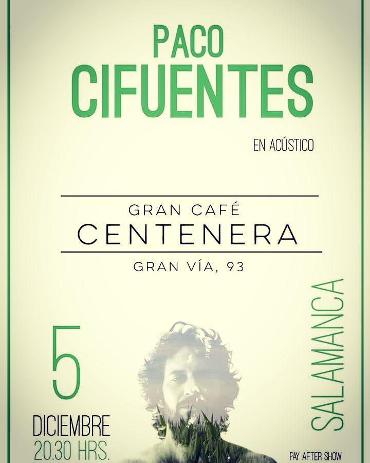 Centenera Paco Cifuentes Salamanca Diciembre 2017