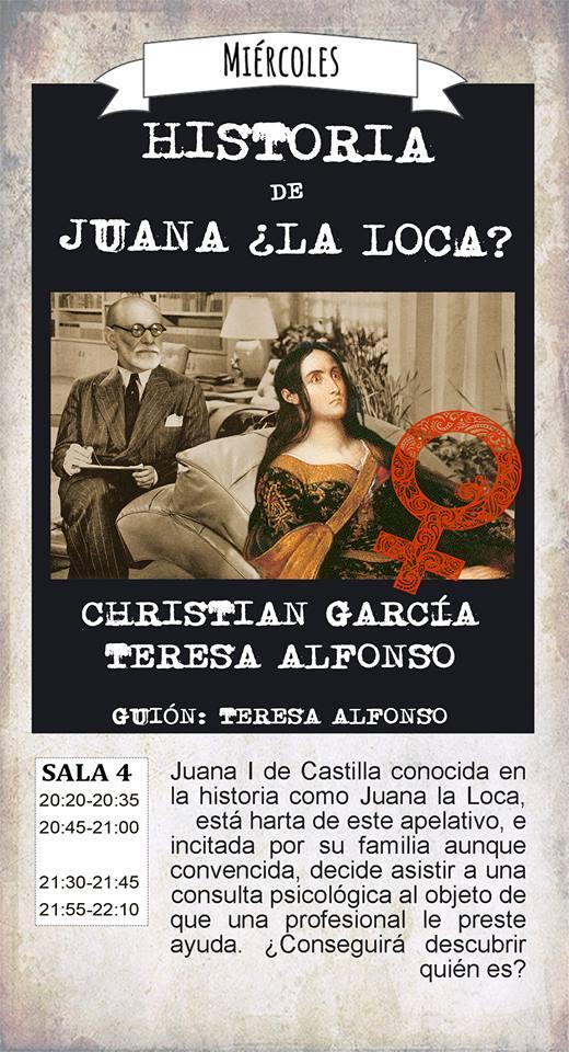 La Malhablada Historia de Juana ¿la Loca? Salamanca Diciembre 2017