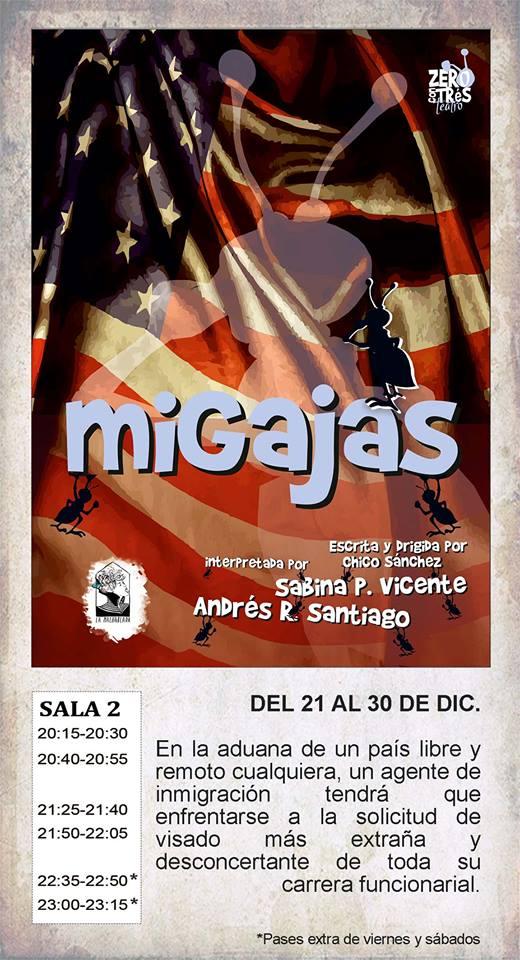 La Malhablada Migajas Salamanca Diciembre 2017