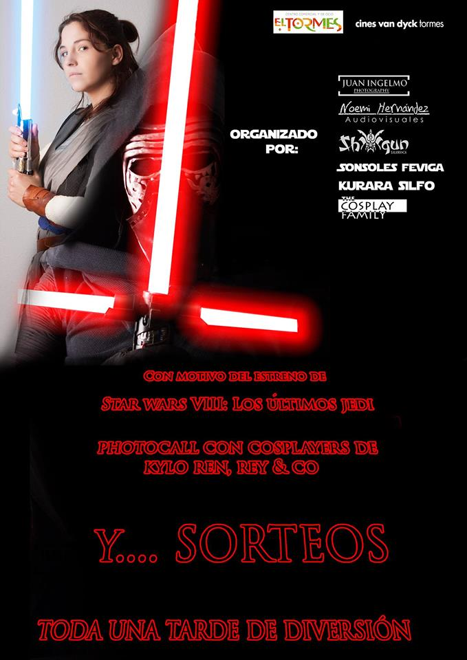 Centro Comercial El Tormes Star Wars VIII: Los últimos Jedi Santa Marta de Tormes Diciembre 2017