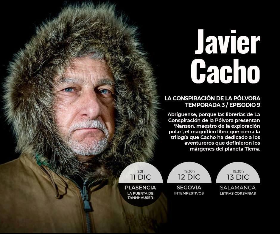 Letras Corsarias Javier Cacho Salamanca Diciembre 2017