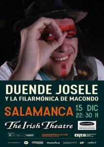 The Irish Theatre Duende Josele y La Filarmónica de Macondo Salamanca Diciembre 2017